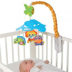 Elephant Friends Cot Musical Mobile