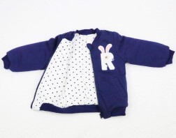 R is for Rabbit Girls Winter Jumper