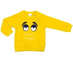 Sweatshirt Jumper Yellow Sleepless Face