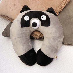 Racoon Travel Pillow