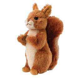 Squirrel Nutkin Soft Toy - Medium