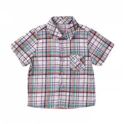 Chequered Short Sleeve Shirt