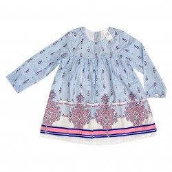 Dress Light Long Sleeve Porcelain Blue