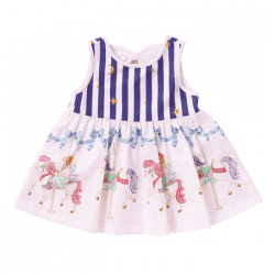 Merry-Go-Round Sleeveless Dress