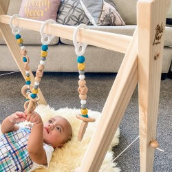 Activity Play Gym - Mustard Tui - NZ Made
