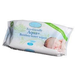 Bamboo Wet Wipes 70 Pack