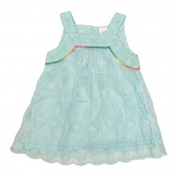 Lacy Light Turquoise Dress