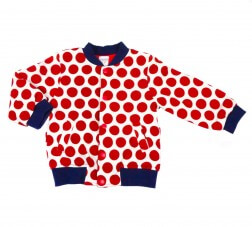 Red Spotty Winter Jumper