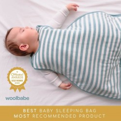 Woolbabe Sleeping Bag Merino Duvet | Tide