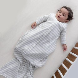 Woolbabe Sleeping Bag Merino 3 Seasons | Pebble