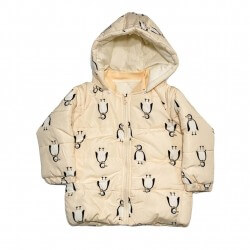 Penguin Peach Puffer Jacket