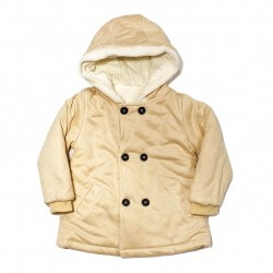 Girls Winter Suit Hooded Jacket