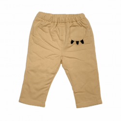 Beige Claw Pocket Pants