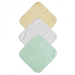 Face Cloths 6 Pack | Pastel Colours
